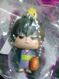Katekyo Hitman Reborn Devireborn Mascot Keychain Figure - Hibari