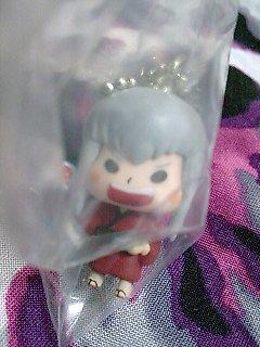 Katekyo Hitman Reborn Devireborn Mascot Keychain Figure - Squalo