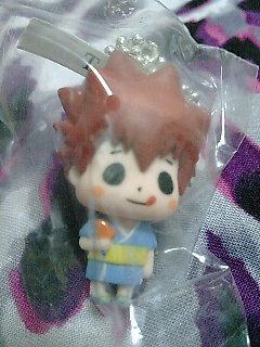 Katekyo Hitman Reborn Devireborn Mascot Keychain Figure - Tsuna