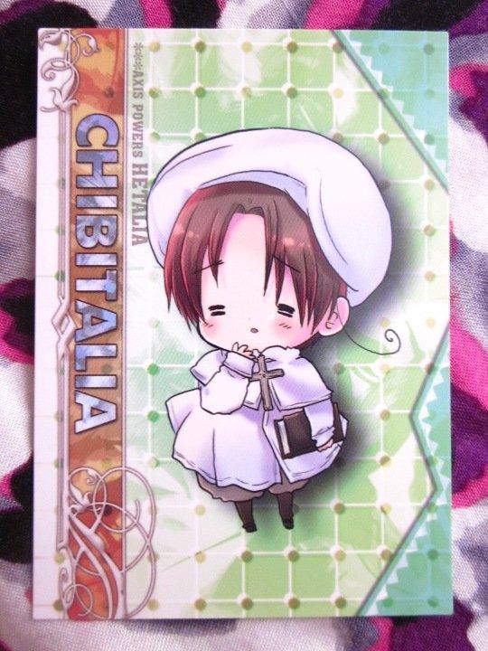 Axis Powers Hetalia Trading Card - Chibitalia Character Card