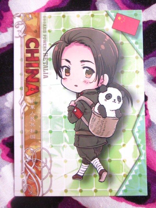 Axis Powers Hetalia Trading Card - China Character Card