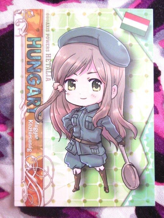 Axis Powers Hetalia Trading Card - Hungary Character Card