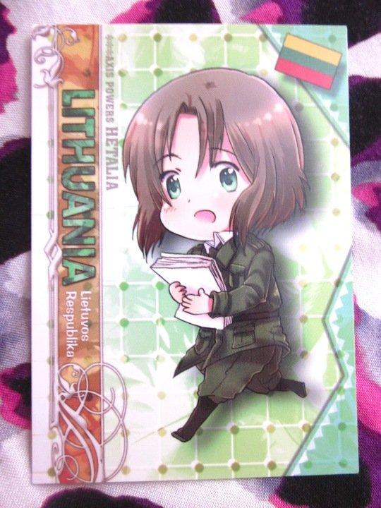 Axis Powers Hetalia Trading Card - Lithuania Character Card