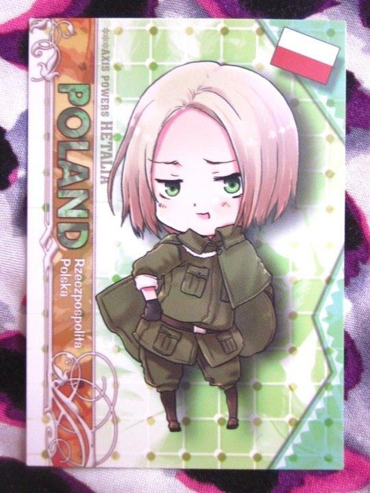 Axis Powers Hetalia Trading Card - Poland Character Card