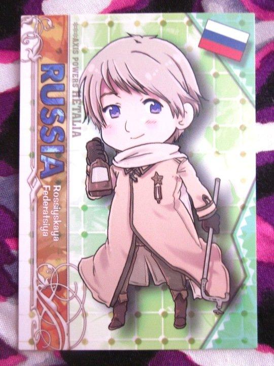 Axis Powers Hetalia Trading Card - Russia Character Card