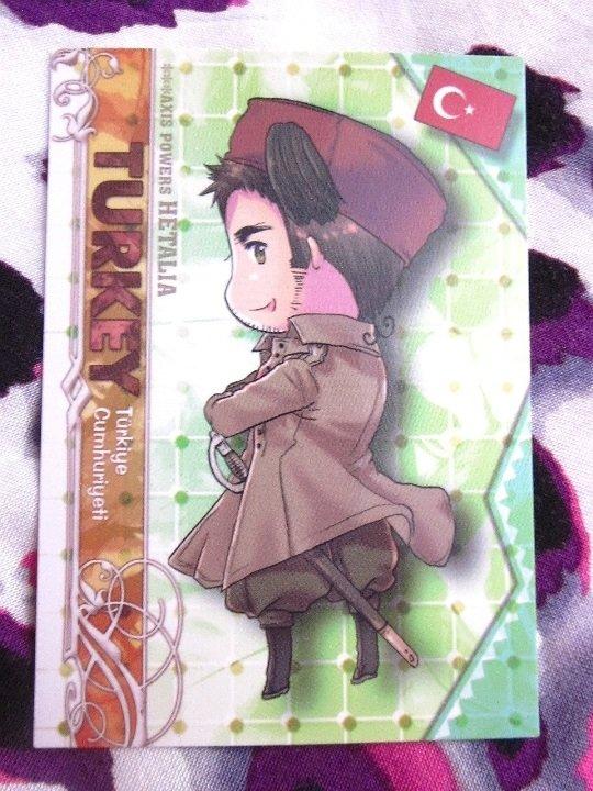 Axis Powers Hetalia Trading Card - Turkey Character Card