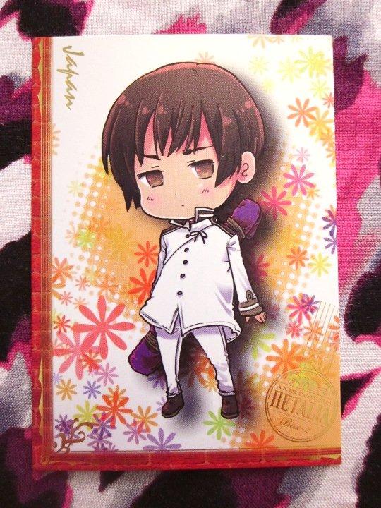 Axis Powers Hetalia Trading Card - Japan Promo Card