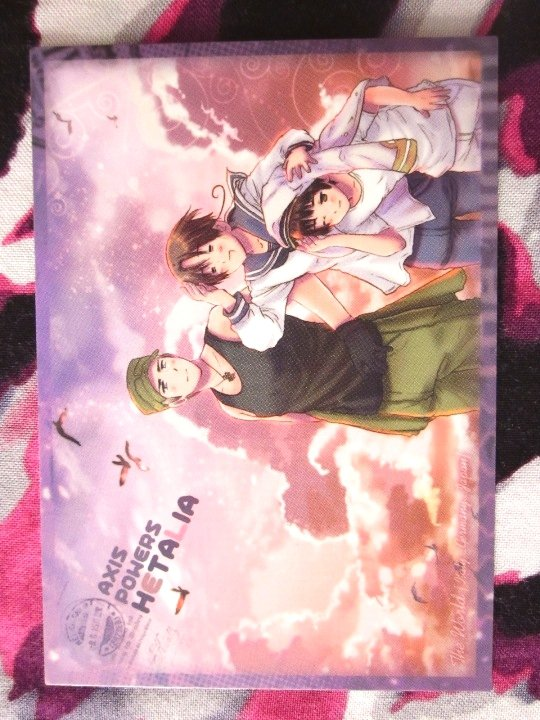 Axis Powers Hetalia Trading Card - Axis Powers Illustration Card