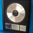 "BON JOVI PLATINUM RECORD AWARD ""SLIPPERY WHEN WET"""