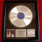 "ELVIS PRESLEY PLATINUM RECORD AWARD ""IN CONCERT"""