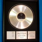 "PINK FLOYD PLATINUM RECORD AWARD ""THE WALL"""
