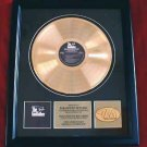 "THE GODFATHER GOLD RECORD AWARD ""PARAMOUNT PICTURES"""