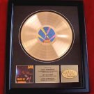OZZY OSBOURNE GOLD RECORD AWARD