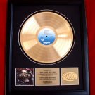 JETHRO TULL GOLD RECORD AWARD - FREE SHIPPING!
