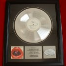 "SAMMY HAGAR PLATINUM RECORD AWARD ""THREE LOCK BOX"""