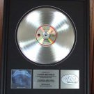 METALLICA PLATINUM RECORD AWARD - RIDE THE LIGHTNING