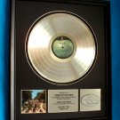 "THE BEATLES PLATINUM RECORD AWARD "" ABBEY ROAD"""