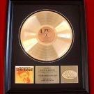 LITTLE RICHARD GOLD RECORD AWARD - UNTITED ARTISTS