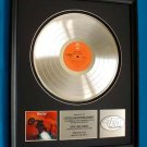 "MEAT LOAF PLATINUM RECORD AWARD ""BAT OUT OF HELL"""