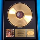 """IRON MAIDEN GOLD RECORD AWARD """"SOMEWHERE IN TIME"""""""