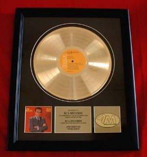 "JIM REEVES GOLD RECORD AWARD ""PURE GOLD"""