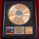 "STRAY CATS GOLD RECORD AWARD ""BUILT FOR SPEED"""