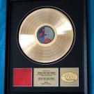 "RUSH GOLD RECORD AWARD ""HOLD YOUR FIRE"""