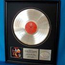 "MOTLEY CRUE PLATINUM RECORD AWARD ""SHOUT AT THE DEVIL"""