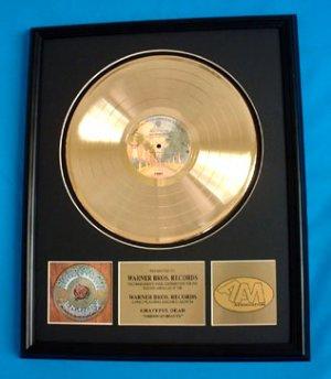 "GRATEFUL DEAD GOLD RECORD AWARD ""AMERICAN BEAUTY"""