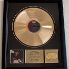 "TINA TURNER GOLD RECORD AWARD ""PRIVATE DANCER"""