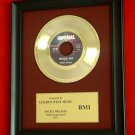 "RICKY NELSON VINTAGE GOLD 45  RECORD AWARD ""TRAVELING MAN"""