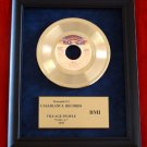 "VILLAGE PEOPLE VINTAGE GOLD 45 RECORD AWARD ""YMCA"""