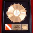 """VAN HALEN GOLD RECORD AWARD """"DIVER DOWN"""""""