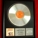 "JOHN DENVER PLATINUM RECORD AWARD ""BACK HOME AGAIN"""