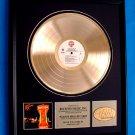 """HANK WILLIAMS JR. GOLD RECORD AWARD """"MONTANA CAFE"""""""
