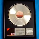 "PINK FLOYD PLATINUM RCORD AWARD ""THE FINAL CUT"""