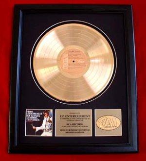 "ELVIS PRESLEY GOLD RECORD AWARD ""ELVIS PRESLEY BOULEVARD"""