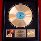 "ELVIS PRESLEY GOLD RECORD AWARD ""YOU'LL NEVER WALK ALONE"""