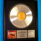 "ELVIS PRESLEY PLATINUM RECORD AWARD ""VOLUME 1"""