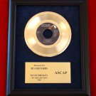 "ELVIS PRESLEY VINTAGE GOLD 45 RECORD AWARD ""IN THE GHETTO"""