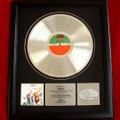 "ABBA PLATINUM RECORD AWARD ""THE ALBUM"""