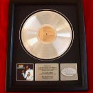 "ELVIS PRESLEY PLATINUM RECORD AWARD - ""PROMISE LAND"""