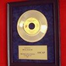 "MICK JAGGER VINTAGE GOLD 45 RECORD AWARD ""START ME UP"""