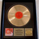 "WILLIE NELSON GOLD RECORD AWARD ""CITY OF NEW ORLEANS"" - VINTAGE"