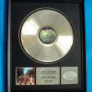 "THE BEATLES PLATINUM RECORD AWARD ""ABBEY ROAD"" - RARE!!"