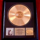"THE CARPENTERS GOLD RECORD AWARD ""CLOSE TO YOU"" -  RARE!!"