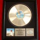 "GEORGE STRAIT PLATINUM RECORD AWARD ""OCEAN FRONT PROPERTY"""