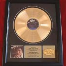 "ENGELBERT HUMPERDINCK GOLD RECORD AWAARD ""THIS MOMENT IN TIME"""
