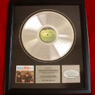 "THE EARLY BEATLES PLATINUM RECORD AWARD ""RARE"""