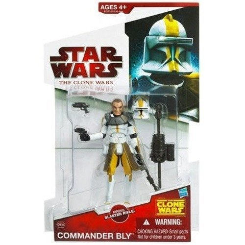 SOLD Star Wars The Clone Wars Commander Bly CW39 - 3-3/4 Inch Scale Action Figure MOC MIB